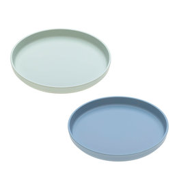 Lassig Lässig - Plate Set Mint / Blueberry