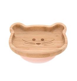 Lässig Lässig - Bamboo-Wood Platter Little Chums Mouse