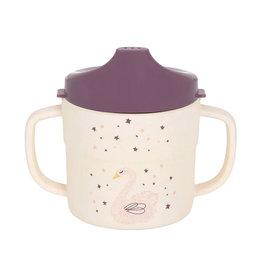 Lässig Lässig - 2-handle Sippy cup Melamine Little Water Swan