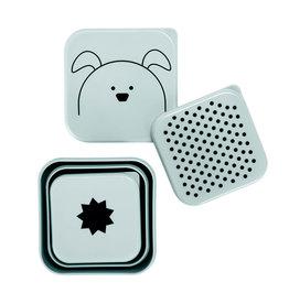 Lassig Lässig - Snackbox 3pcs Little Chums Dog