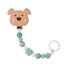 Lässig Lässig - Soother Holder Little Chums Dog