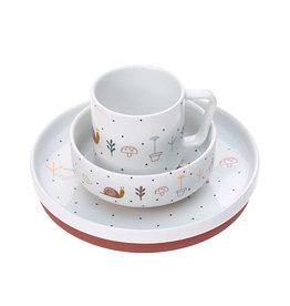 Lässig Lässig - Dish Set Porcelain Garden Explorer Snail