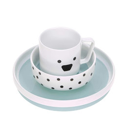 Lässig Lässig - Dish Set Porcelain Little Chums Dog