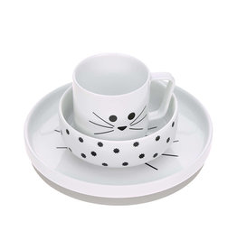 Lässig Lässig - Dish Set Porcelain Little Chums Mouse