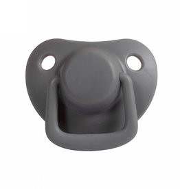 Filibabba Filibabba - Fopspeen 0-6m 2pcs Dark Grey