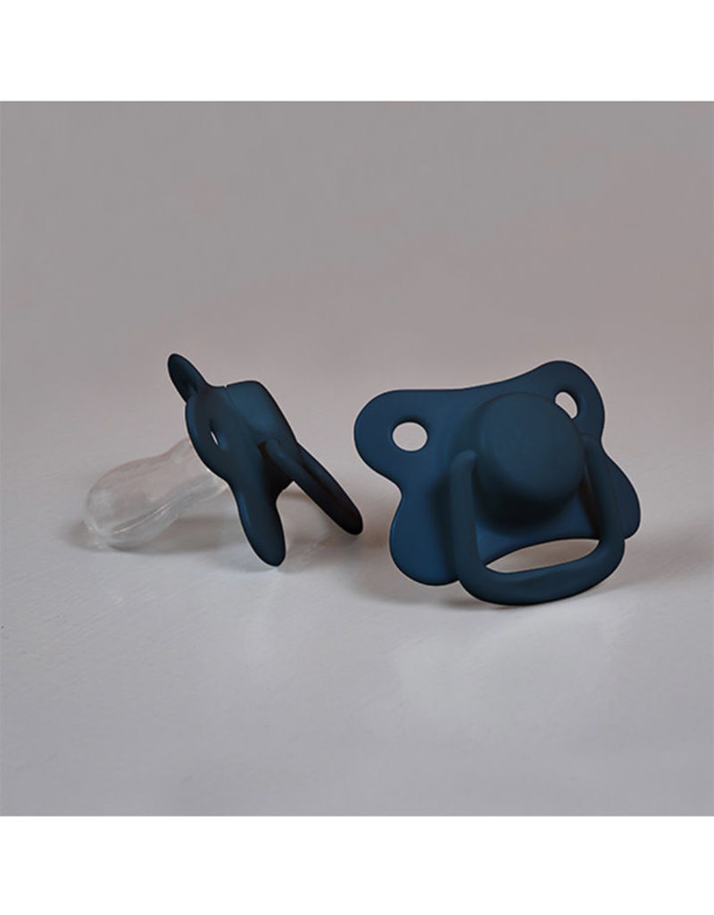 Filibabba Filibabba - Sucette +6m 2pcs Dark Blue
