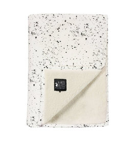 Mies & Co Mies & Co - Baby soft teddy blanket Galaxy Off white