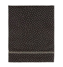 Mies & Co Mies & Co - Toddler bed sheet Perfect hearts Black