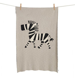 Quax Quax - Tricot Deken Zebra