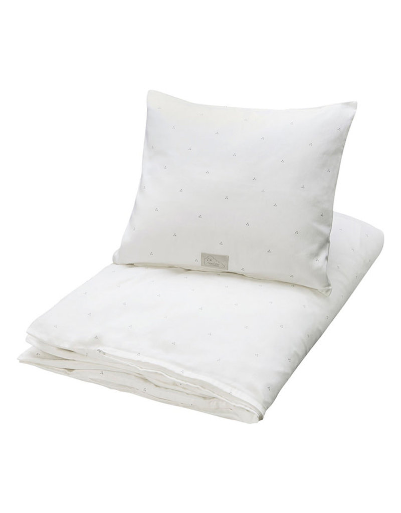 Cam Cam Cam Cam - Junior bedding Dot creme