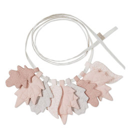 Cam Cam Cam Cam - Leaves Garland Mix Rose