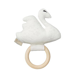 Cam Cam Cam Cam - Swan Rattle Off-White