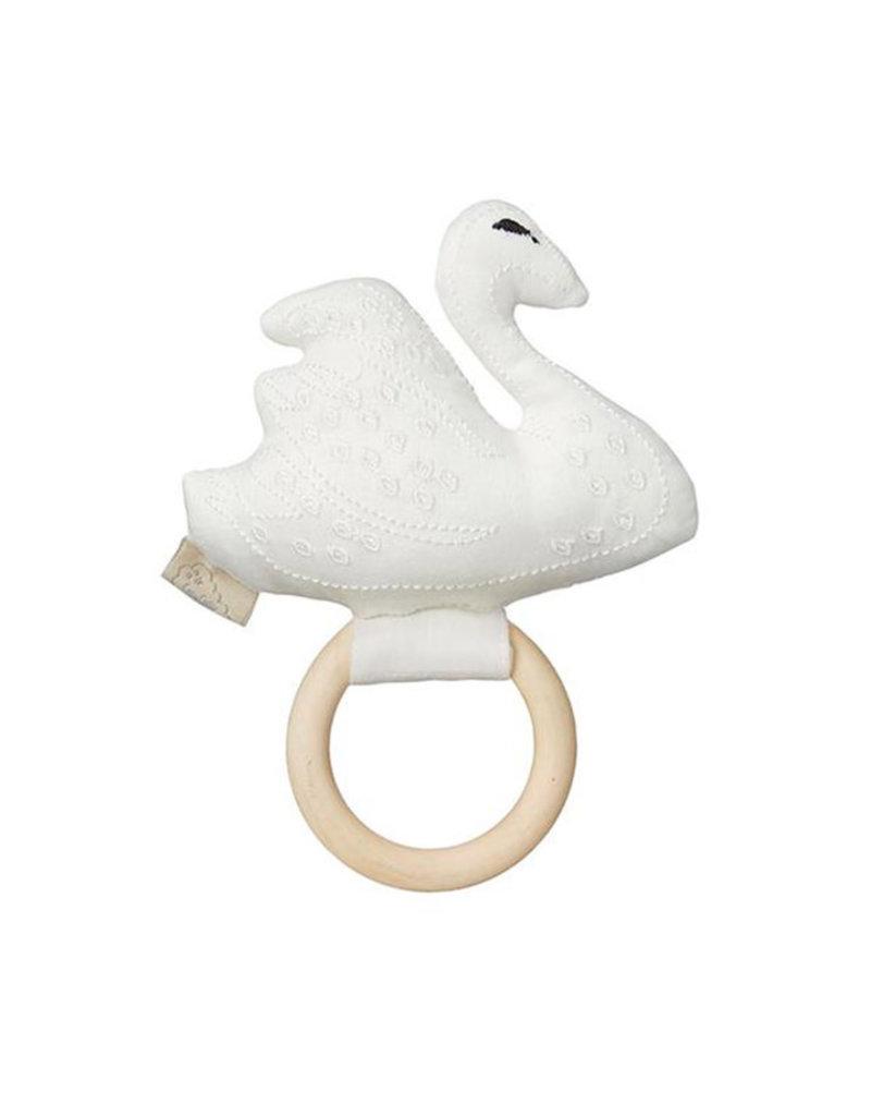 Cam Cam Cam Cam - Swan Rattle Off-White