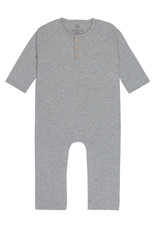 Lässig Baby Overall, Heather grey mélange 50