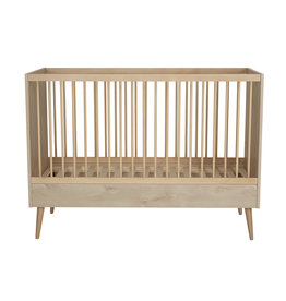 Quax Quax - Cocoon Bed 140x70 Natural Oak