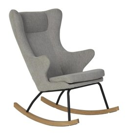 Quax Rocking chair Adult De Luxe - Sand Grey
