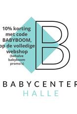 10% korting op de hele webshop (behalve babyboom promo's)
