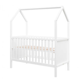 Bopita Bopita - My first house Bedbank 140x70 White