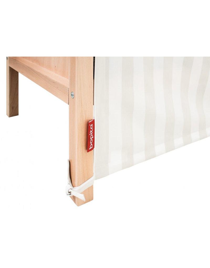 Bopita Bopita - My first house Textile Bed Naturel/White