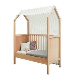 Bopita Bopita - My first house Textiel Bed Naturel/White