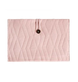 House Of Jamie House Of Jamie - Travel Changing Mat Geo Jacq Powder Pink