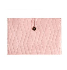 House Of Jamie House Of Jamie - Nappy Pouch Geo Jacq Powder Pink