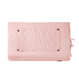House Of Jamie House Of Jamie - Changing mat Cover Geo Jacq Powder Pink