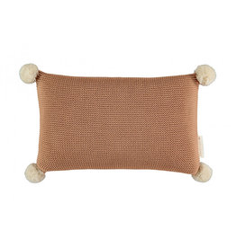Nobodinoz Nobodinoz - So natural Knitted Cushion Biscuit