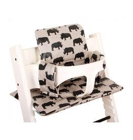 Ukje Ukje - Cushion Stokke Tripp Trapp Rhinocéros beige