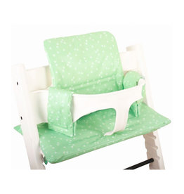 Ukje Ukje - Cushion Stokke Tripp Trapp Mint triangle