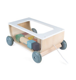 Janod SWEET COCOON CART WITH BLOCKS