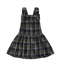 Your wishes Your Wishes - Checks Dungaree Dress