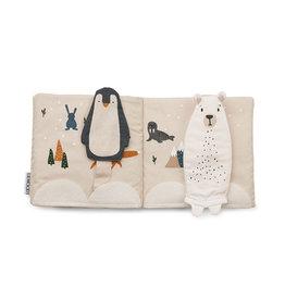 Liewood Benny Fabric Book - Arctic mix