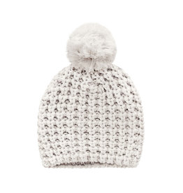 Your wishes Your Wishes - Pompom Hat Chalk Knit