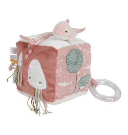 Little Dutch Little Dutch - Cube d'activités doux Ocean Pink