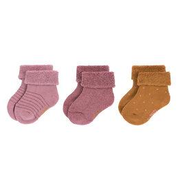 Lässig Lässig - Newborn Socks Rosewood