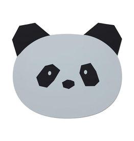 Liewood Aura Placemat - Panda dumbo grey