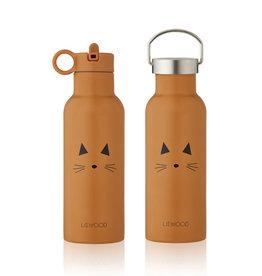 Liewood Neo Water Bottle - 500ml - Cat mustard