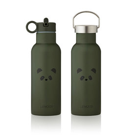 Liewood Neo Water Bottle - 500ml - Panda hunter green