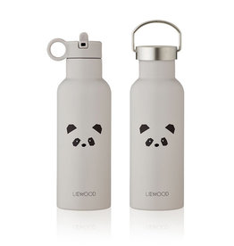 Liewood Liewood - Neo Water Bottle 500ml Panda light grey