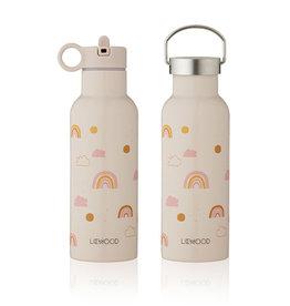 Liewood Liewood - Neo Water Bottle 500ml Rainbow love mix