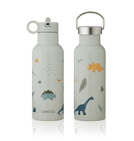 Liewood Liewood - Neo Water Bottle 500ml Dino dove blue mix