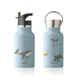 Liewood Liewood - Anker Water Bottle 350ml Sea creature mix