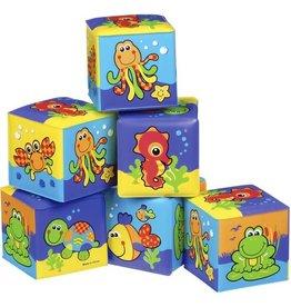 Playgro Stapelblokken Soft Blocks - 6 stuks