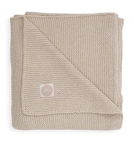 Jollein Ledikant Deken Basic Knit 100x150cm - Nougat