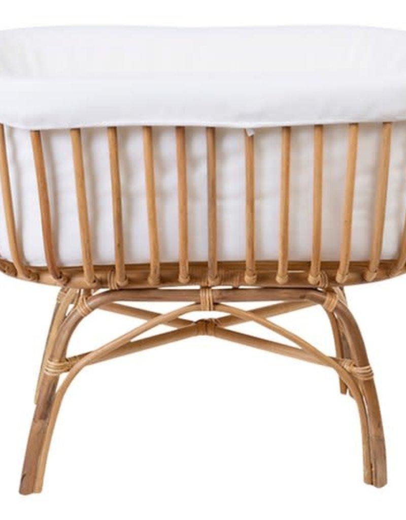 Childhome Bekleding voor wieg wit katoen/polyester