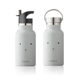 Liewood Liewood - Anker Water Bottle 350ml Rabbit dumbo grey