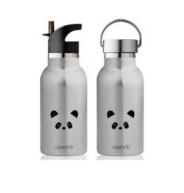 Liewood Liewood - Anker Water Bottle 350ml Panda Stainless Steel