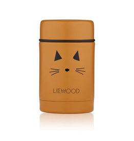 Liewood Liewood - Nadja Food Jar Cat mustard