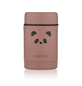 Liewood Liewood - Nadja Food Jar Panda dark rose